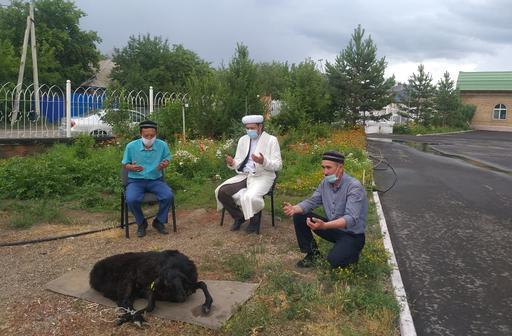 Семей имамдары құрбан шалып, дұға жасады