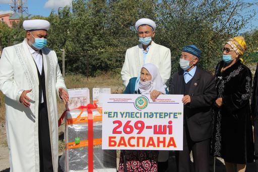 Павлодар: 269-пәтер қос қарияға берілді