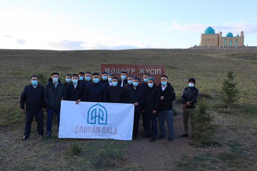 Павлодар имамдары Мәшһүр Жүсіп кесенесіне зиярат жасады
