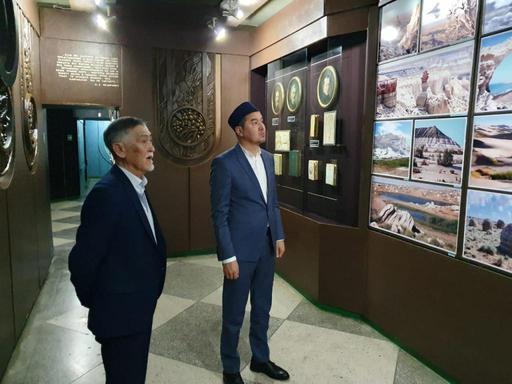 Маңғыстау: Бас имам тарихи музейде болды