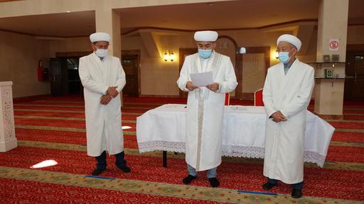 Шымкент мешіттеріне имамдар тағайындалды (ФОТО)