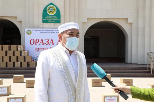 Шымкент: 74 755 мұқтаж отбасыға көмек берілді
