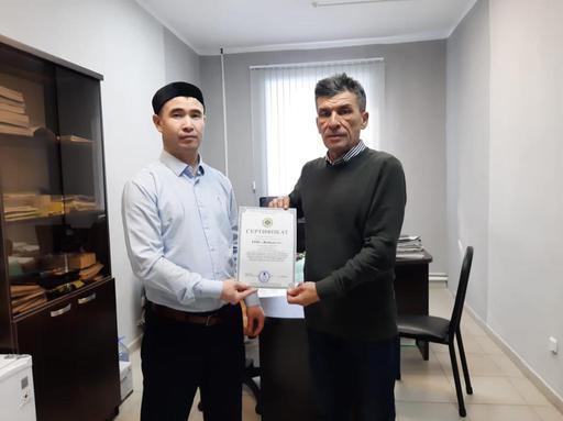 «Жайық-ет» құсфабрикасы сертификат алды