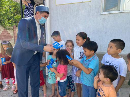 Қызылорда: Бар жақсылық – балаларға