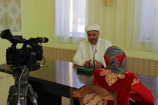 Павлодар: Бас имам «Ирбис» арнасына сұхбат берді