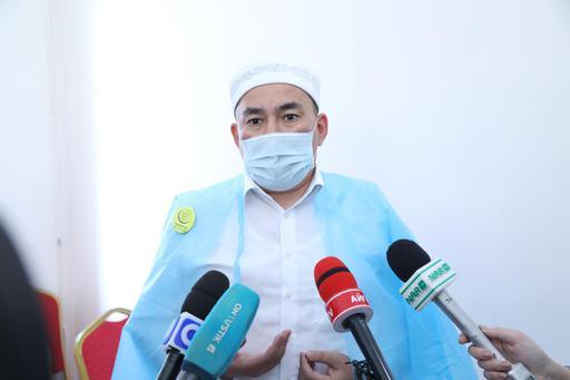 Шымкент имамдары оразаның бірінші күні вакцина салдырды