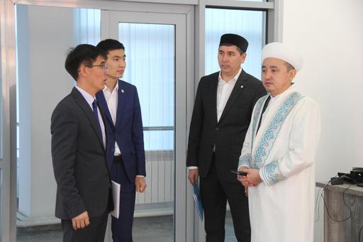 Қызылорда: Наиб мүфти –  жастар орталығында