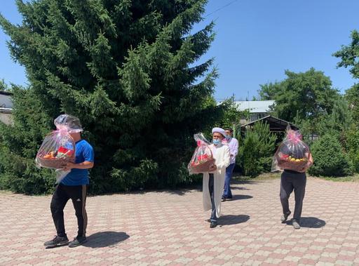 Алматы өңірі: Балаларға базарлық берілді