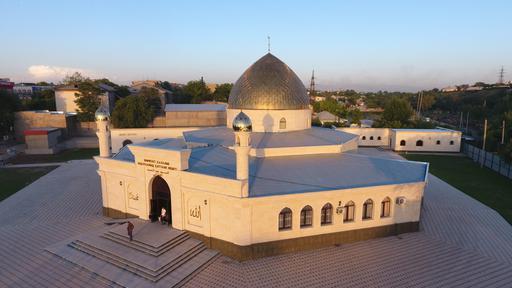 Шымкент: Красивая и преображенная мечеть «Абдул Хамид Каттани» снова возобновила свою работу (ФОТО)