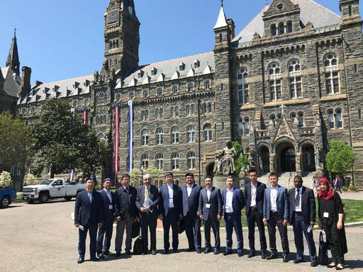 ҚМДБ делегациясы Вашингтон қаласында (ФОТО)