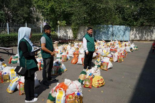 Фонд «Зекет» при ДУМК оказал помощь 50 семьям