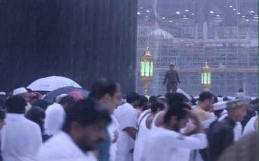Небывалые дожди в Мекке не причинили вреда паломникам